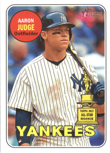 Photo of 2018 Topps Heritage #25 Aaron Judge