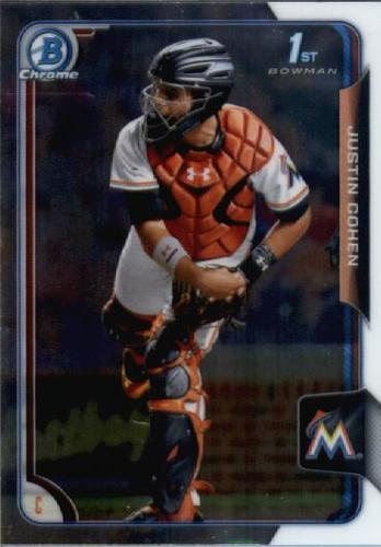Photo of 2015 Bowman Chrome Draft #98 Justin Cohen