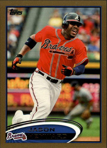 Photo of 2012 Topps Gold #85 Jason Heyward