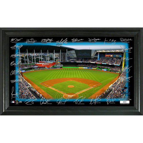 Photo of Miami Marlins Signature Field Photo Frame