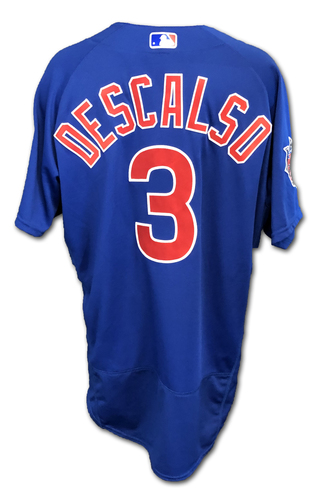 Photo of Daniel Descalso Team-Issued Jersey -- Size 46 -- Spring Training 2019