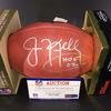 HOF - Bills Jim Kelly Signed Authentic Football