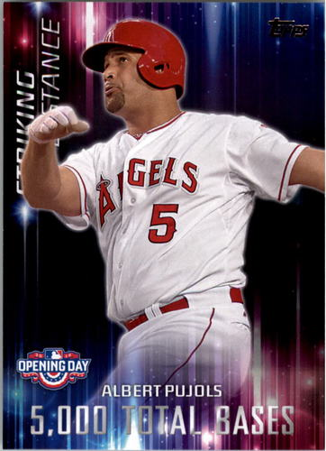 Photo of 2016 Topps Opening Day Striking Distance #SD5 Albert Pujols