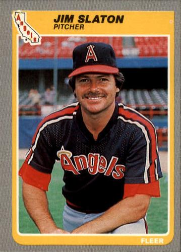 Photo of 1985 Fleer #313 Jim Slaton