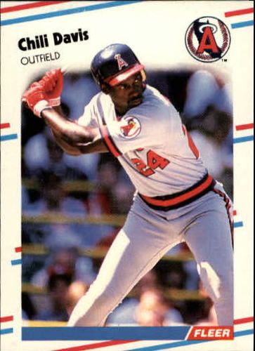 Photo of 1988 Fleer Update #12 Chili Davis