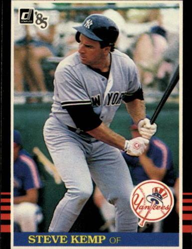 Photo of 1985 Donruss #225 Steve Kemp