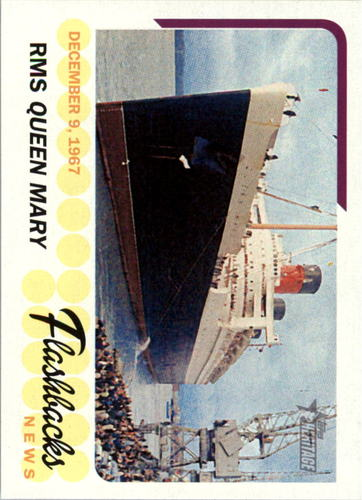 Photo of 2016 Topps Heritage News Flashbacks #NFRM RMS Queen Mary