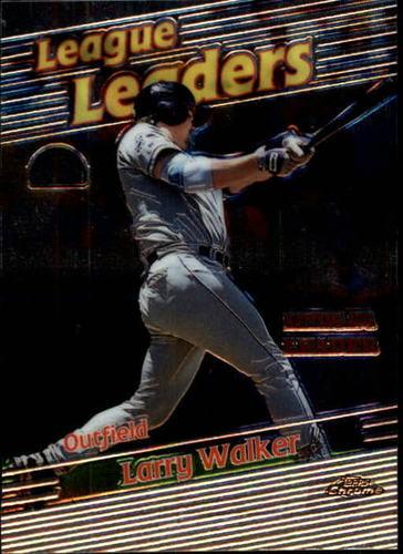 Photo of 1999 Topps Chrome #221 Larry Walker LL