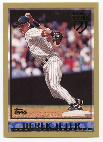 Photo of 2017 Topps Archives Derek Jeter Retrospective #DJ6 Derek Jeter/'98 Topps REPRINT