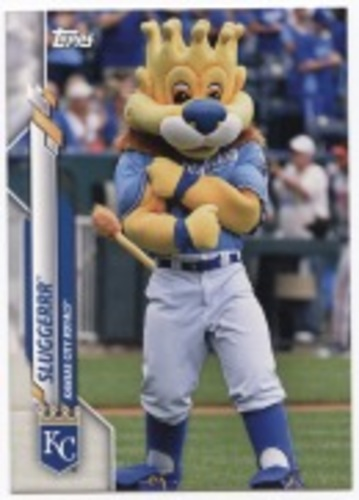 Photo of 2020 Topps Opening Day Mascots #M7 Sluggerrr