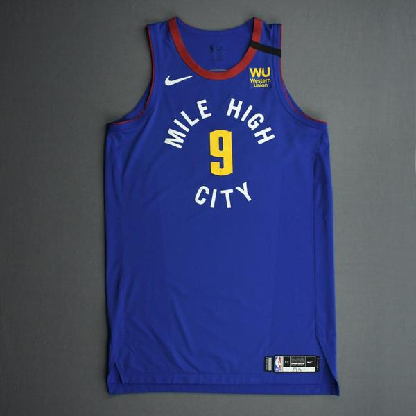 Image of Jerami Grant - Denver Nuggets - Game-Worn Statement Edition Jersey - 2019-20 NBA Season Restart