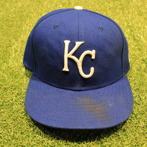 Photo of Game-Used 2020 Hat: Ian Kennedy #31 (Size 7 3/8 - DET @ KC 9/27/20)