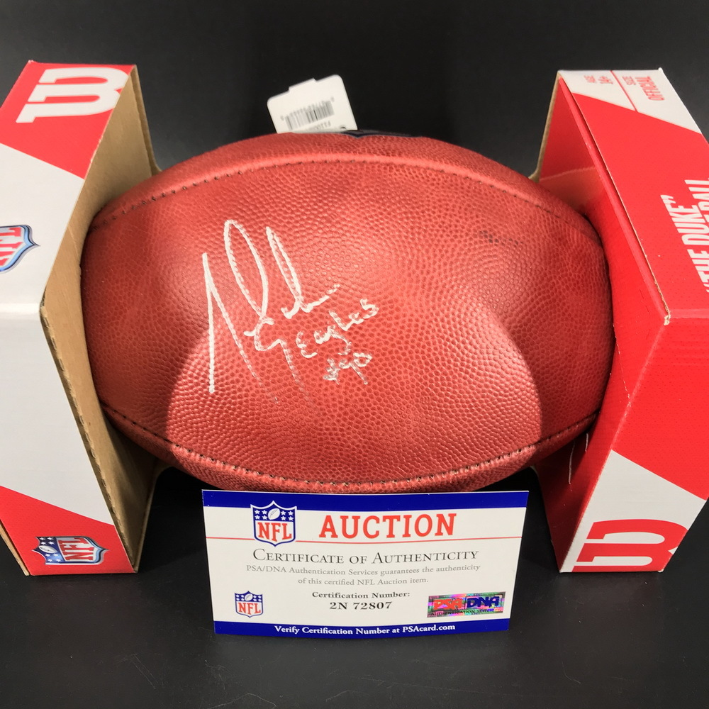 NFL - Eagles Mike Golick Signed Authentic Football