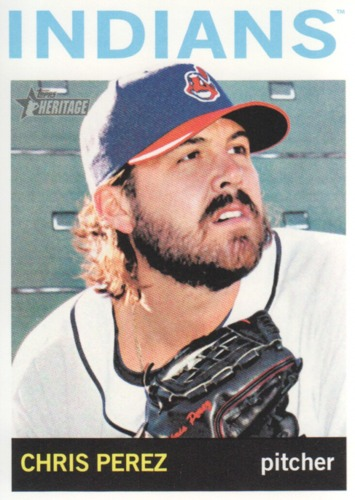 Photo of 2013 Topps Heritage #133 Chris Perez