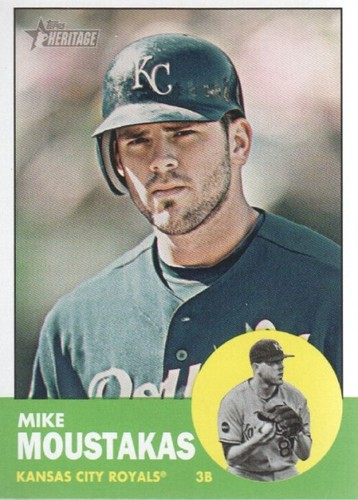 Photo of 2012 Topps Heritage #17 Mike Moustakas