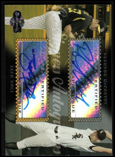 Photo of 2006 Topps Co-Signers Dual Autographs #CS56 Brandon McCarthy/Zach Duke S