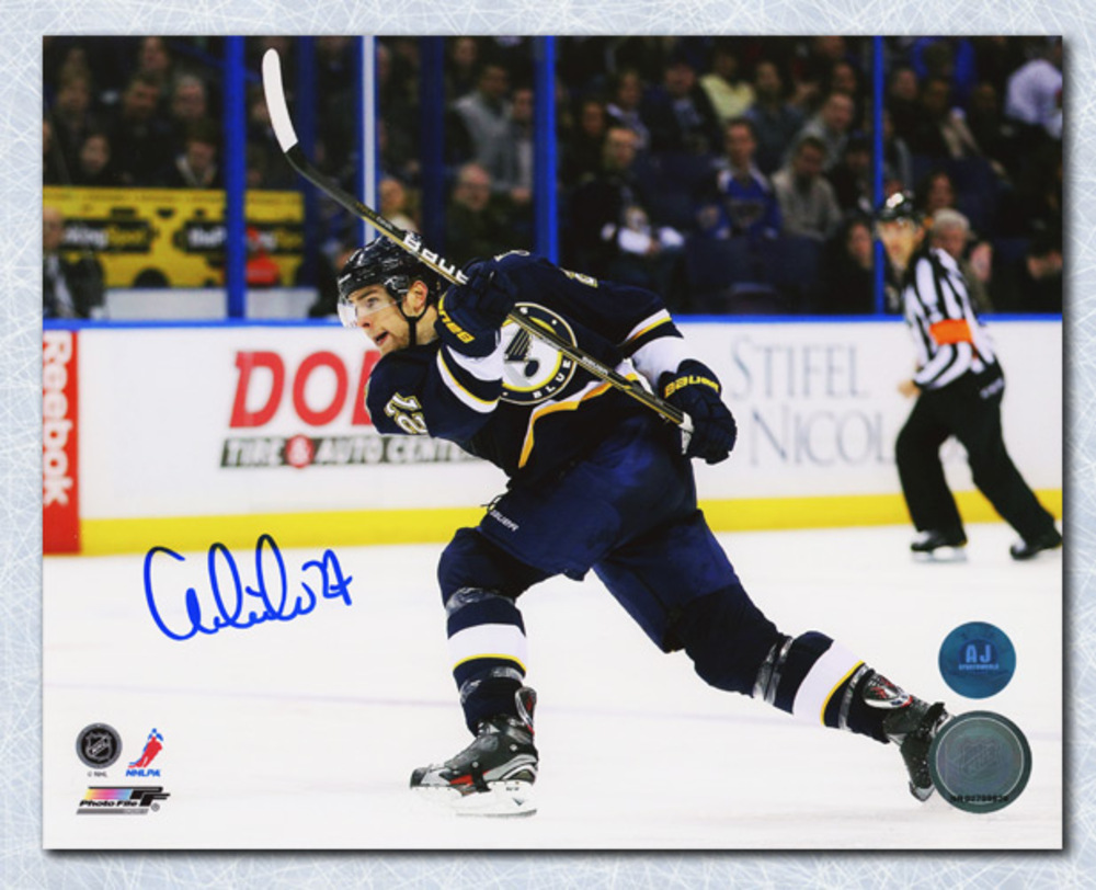 Alex Pietrangelo St. Louis Blues Autographed Slapshot 8x10 Photo