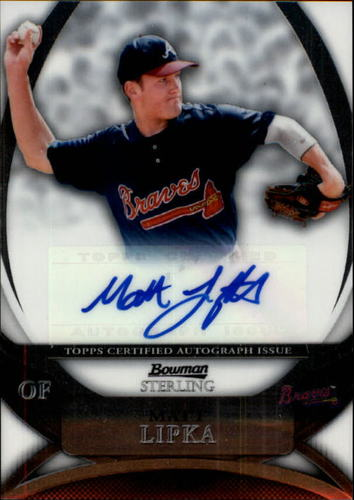 Photo of 2010 Bowman Sterling Prospect Autographs #ML Matt Lipka RC AUTO