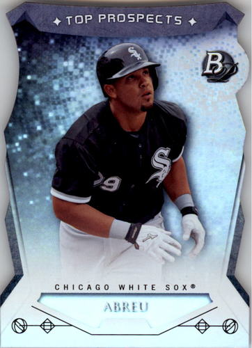 Photo of 2014 Bowman Platinum Top Prospects Die Cuts #TPJA Jose Abreu