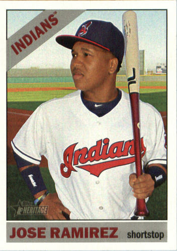 Photo of 2015 Topps Heritage #684 Jose Ramirez