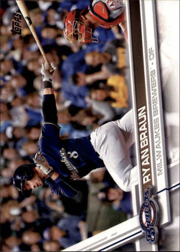 Photo of 2017 Topps #220A Ryan Braun
