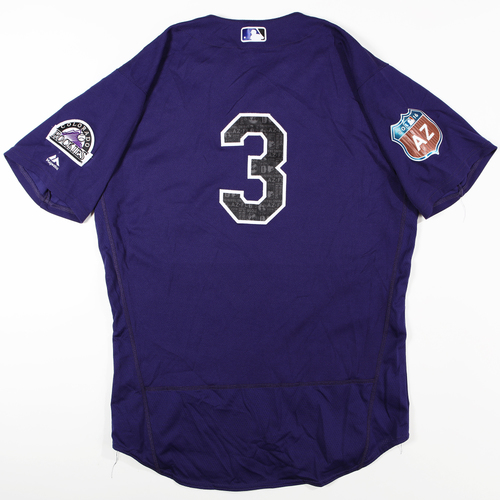 Photo of 2016  Spring Training -  Game-Used Jersey - Daniel Descalso (Rockies) - Size 46