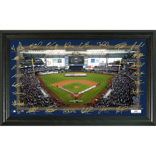 Photo of Milwaukee Brewers Signature Field Photo Frame
