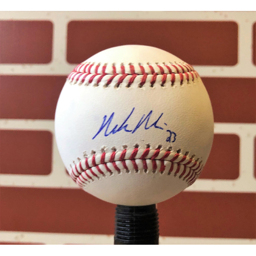Photo of Mike Minor Autographed Final Season Logo Baseball