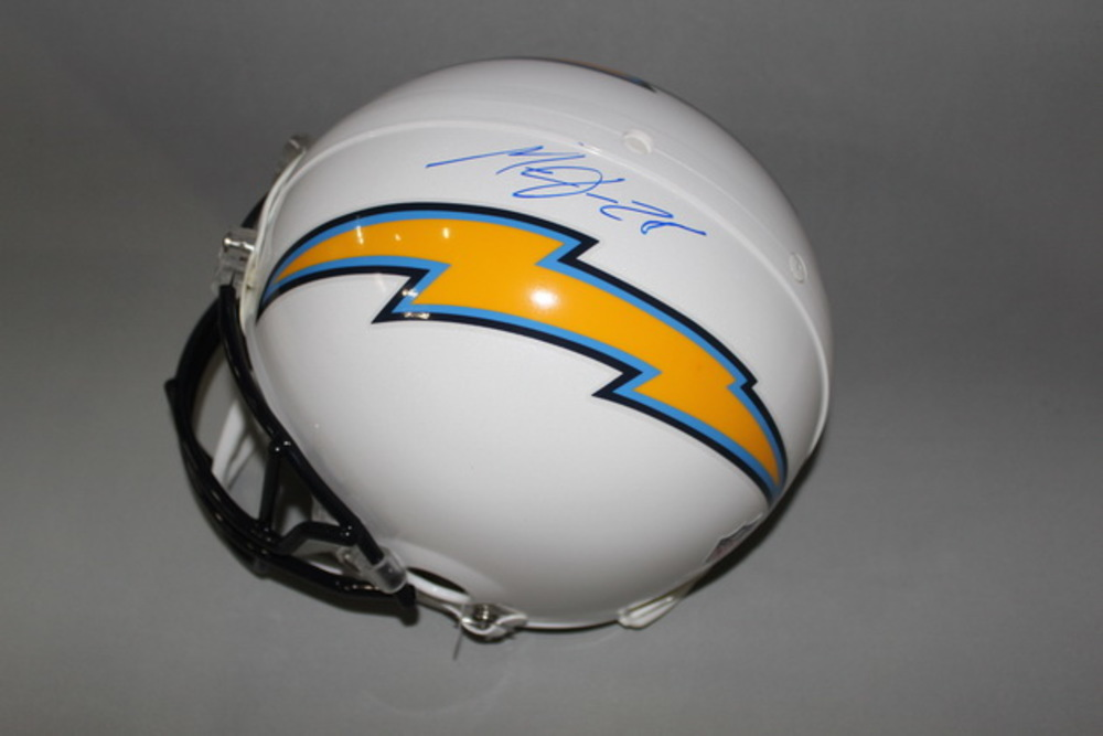 Chargers - Melvin Gordon signed Chargers proline helmet