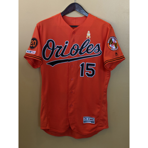 Photo of Chance Sisco - Orange Alternate Jersey: Game-Used