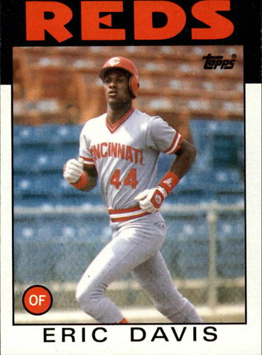 Photo of 1986 Topps #28 Eric Davis