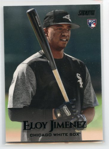 Photo of 2019 Stadium Club Black Foil #79 Eloy Jimenez