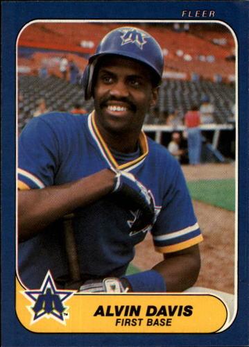 Photo of 1986 Fleer #464 Alvin Davis