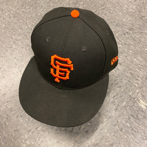 Photo of 2019 Game Used Cap  worn by #37 Joey Rickard on 9/29 vs. Los Angeles Dodgers - Bochy's Final Game - Size 7 1/8