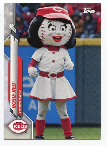 Photo of 2020 Topps Opening Day Mascots #M10 Rosie Red