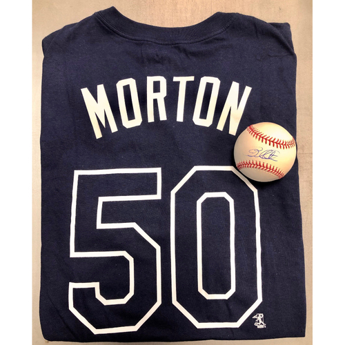 Photo of Rays Baseball Foundation Player Package: Charlie Morton