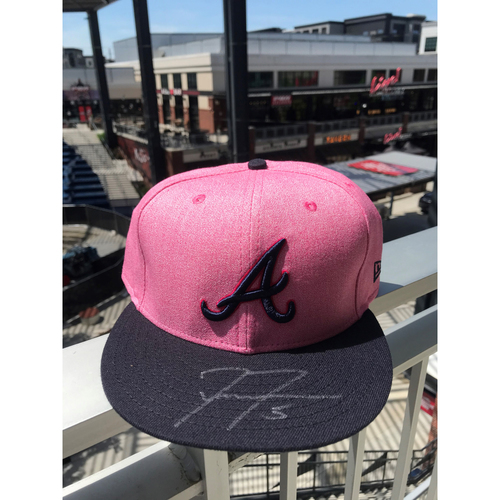 Photo of Freddie Freeman Autographed MLB New Era Pink Cap