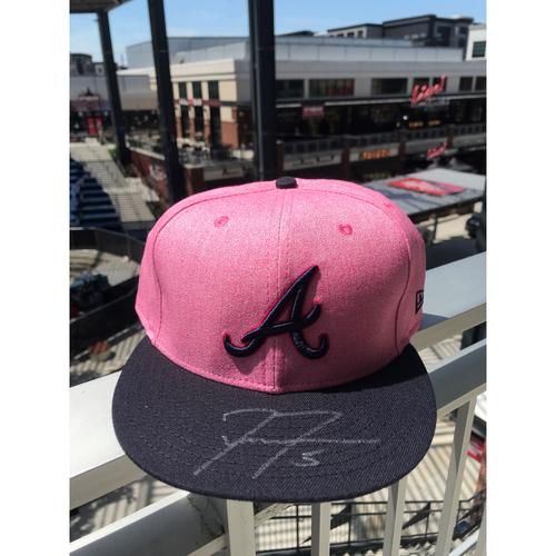 Freddie Freeman Autographed MLB New Era Pink Cap