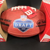 NFL - Broncos Patrick Surtain III Signed Authentic Football with 2021 Draft Logo