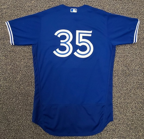 Photo of Authenticated Team Issued Spring Training Jersey: #35 David Phelps (2021 Season). Size 46.