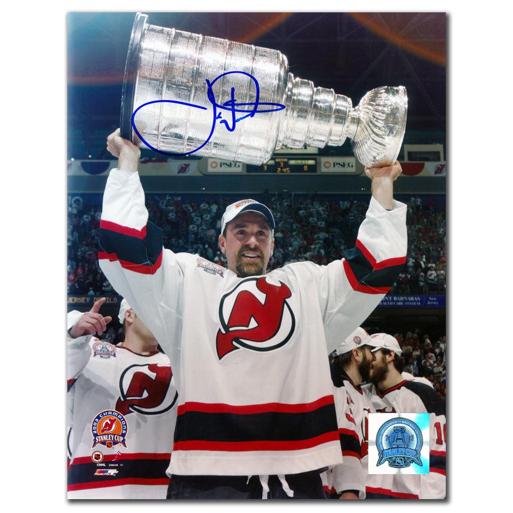 Joe Nieuwendyk New Jersey Devils 2003 Stanley Cup Autographed 8x10