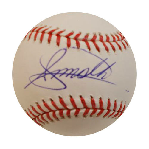 Photo of Steven Moya Autographed Baseball