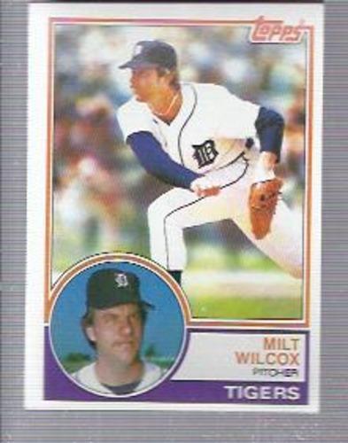 Photo of 1983 Topps #457 Milt Wilcox