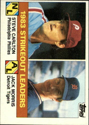Photo of 1984 Topps #136 S.Carlton/J.Morris LL