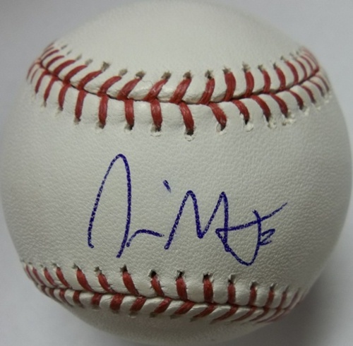 Photo of Nyjer Morgan Autographed Baseball