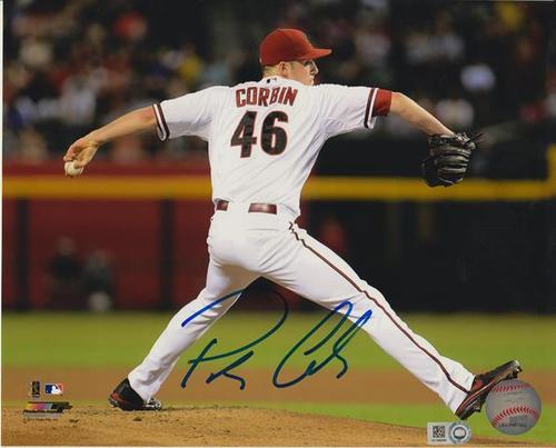 Patrick Corbin Autographed 8x10