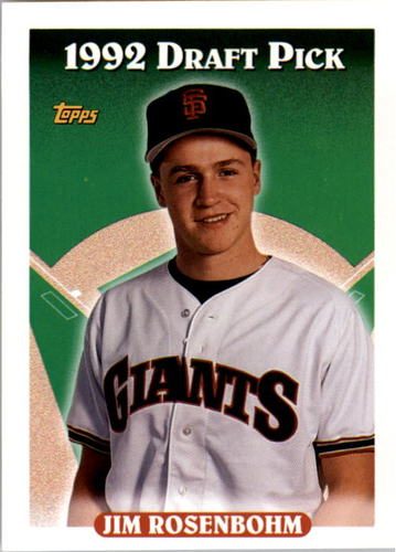 Photo of 1993 Topps #667 Jim Rosenbohm RC