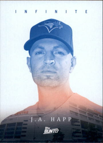 Photo of 2017 Topps Bunt Infinite #IJH J.A. Happ