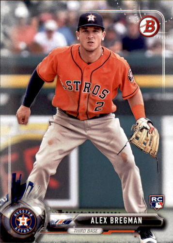 Photo of 2017 Bowman #75 Alex Bregman Rookie Card