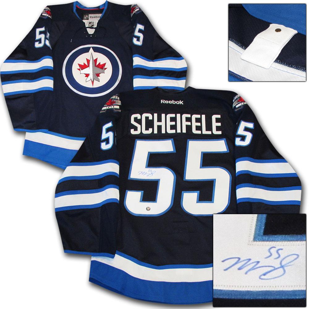 premium selection 532f7 39c93 Mark Scheifele Autographed Winnipeg Jets Authentic Pro ...